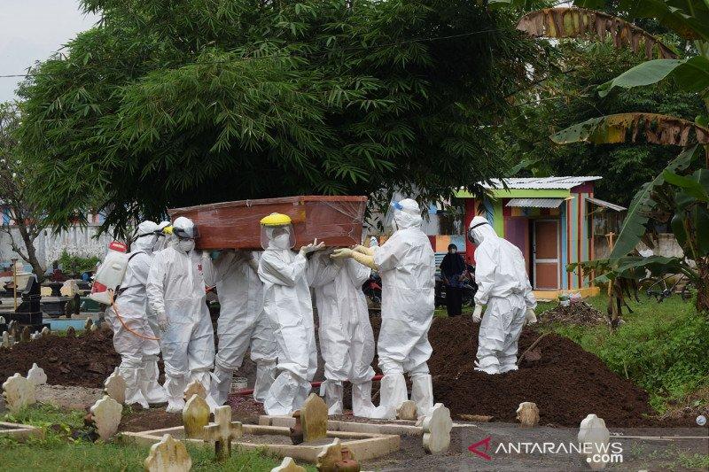 Angka kematian akibat COVID-19 di Jawa Timur