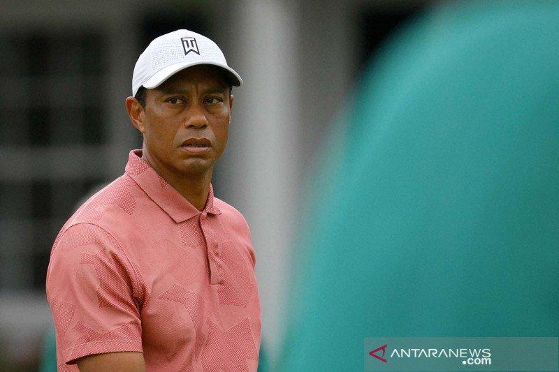 Trump-Obama yakin Tiger Woods kembali ke Tour usai kecelakaan fatal