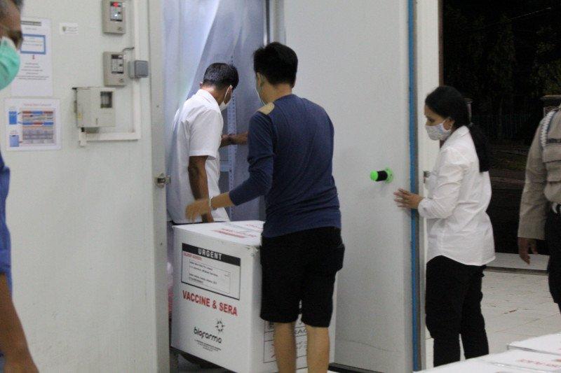 14.820 vial vaksin COVID-19 tahap dua tiba di Lampung