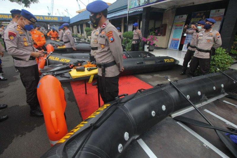 Polairud Polda Jatim siagakan personel tangani bencana alam