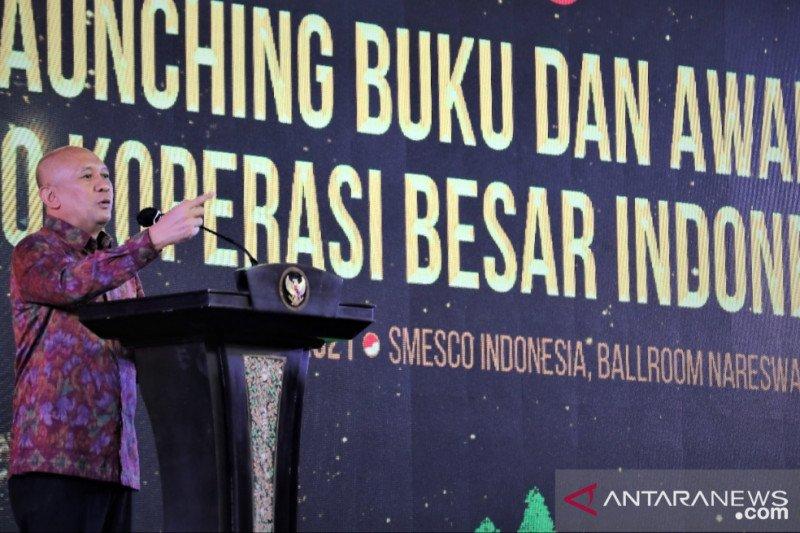 Sebanyak 100 koperasi Indonesia catat akumulasi aset Rp66,6 triliun