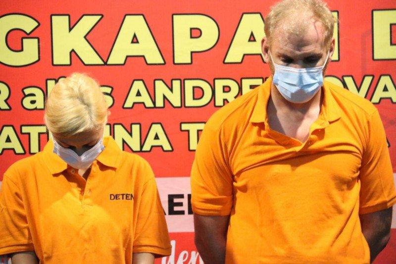 Polda Bali dalami keterlibatan pasangan buronan Rusia