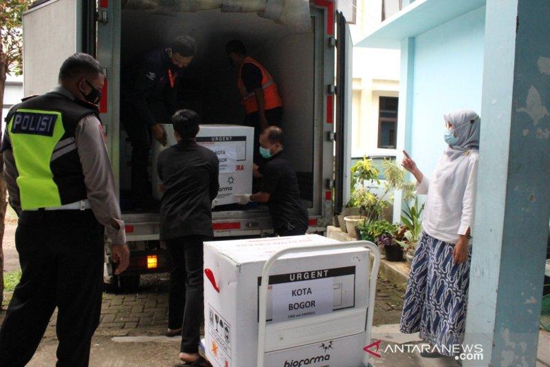 Kota Bogor pastikan vaksinasi COVID-19 tahap I selesai Februari 2021