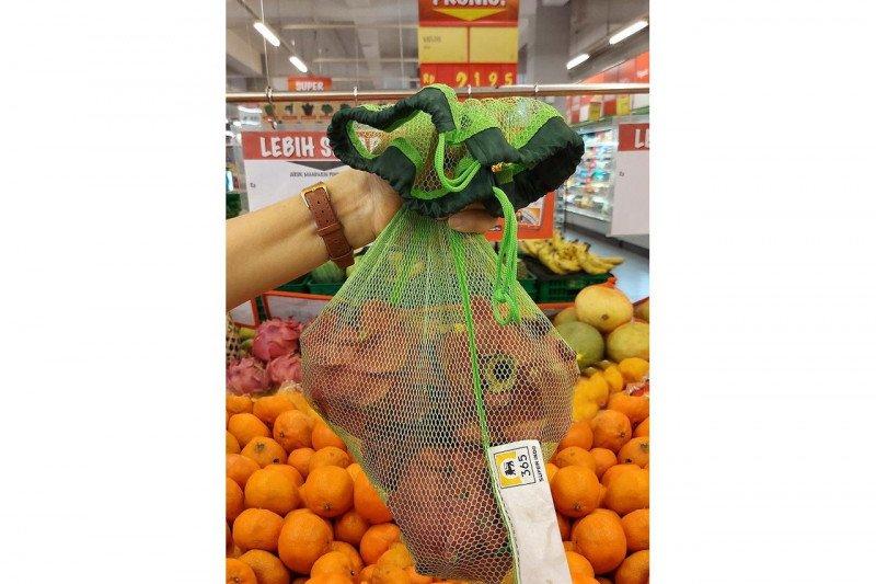 Super Indo luncurkan tas belanja alternatif plastik