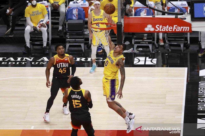 Cedera Mitchell buat Utah Jazz bertekuk lutut dari Lakers