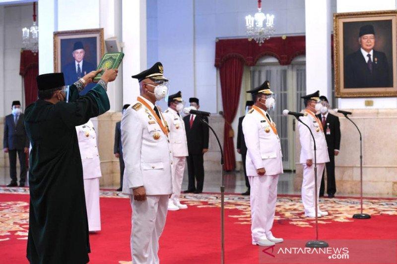 Gubernur-Wagub Sumbar komitmen jalankan program 100 hari