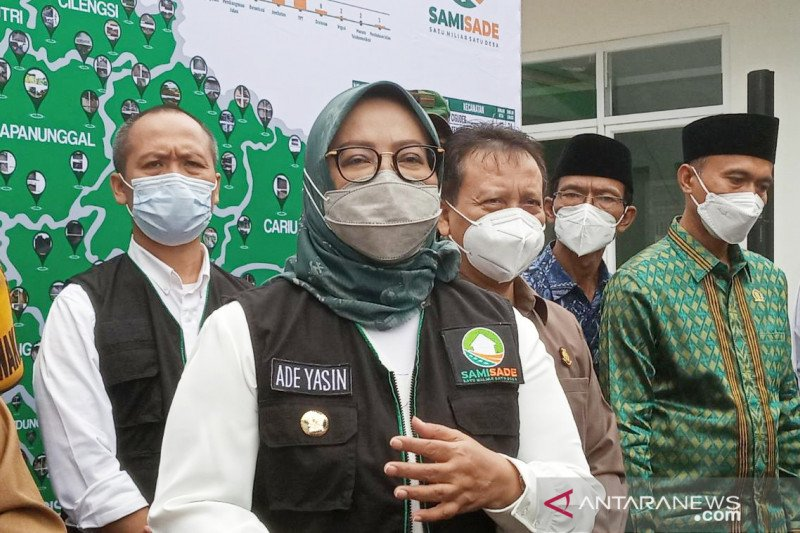 Kasus COVID-19 di Kabupaten Bogor tembus angka 10 ribu