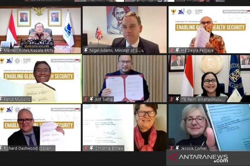 Perguruan tinggi Indonesia, Inggris sepakati MoU riset UKICIS