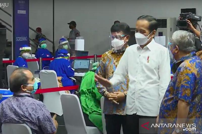 Presiden Jokowi: tol langit bukan hanya untuk kepentingan ekonomi