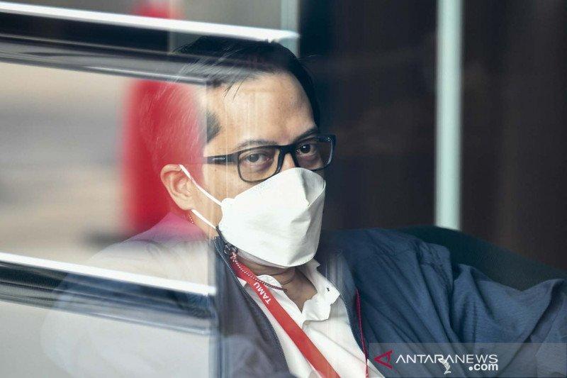 Anggota Komisi II DPR M Rakyan Ihsan Yunus diperiksa KPK