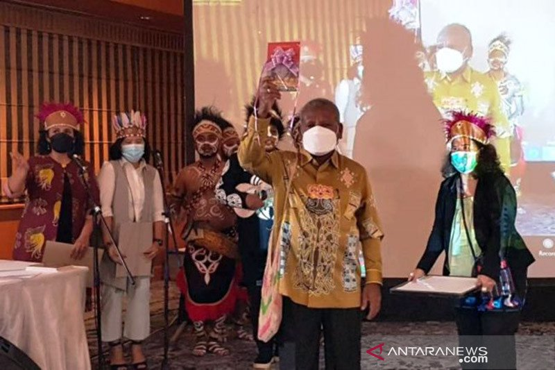 KSP fasilitasi peluncuran buku karya Bupati Jayapura di Jakarta