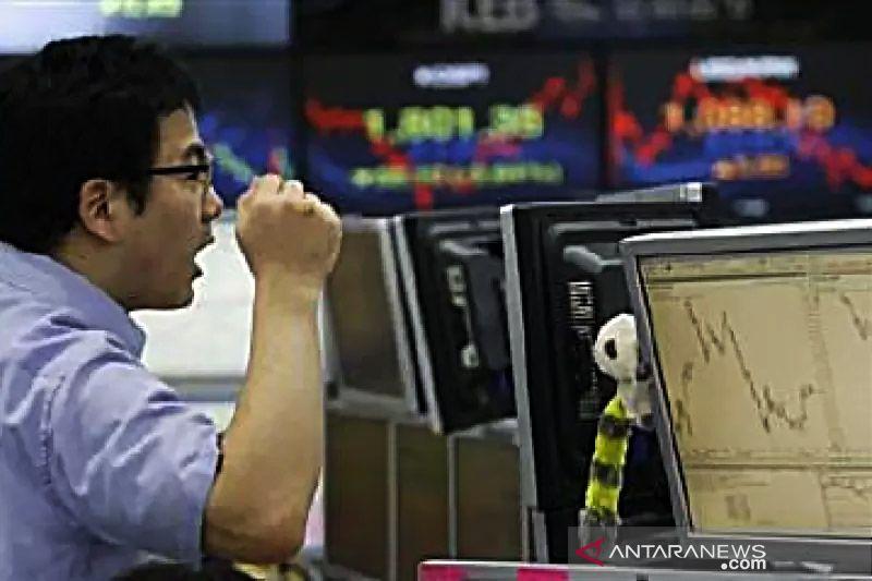Saham Korea Selatan jatuh karena aksi jual investor institusional