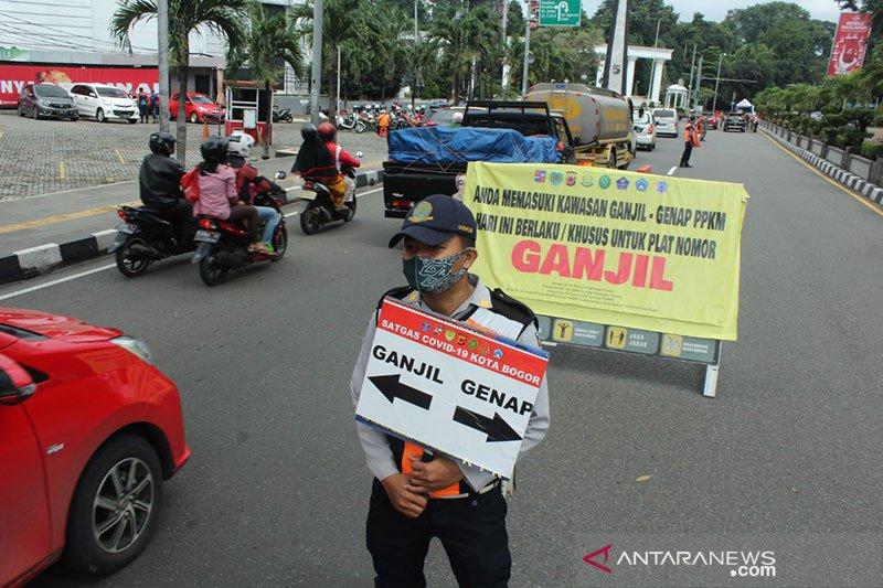 Ganjil-genap direlaksasi, positif COVID-19 di Kota Bogor melonjak