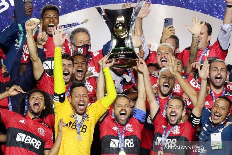 Flamengo juarai Serie A Brazil