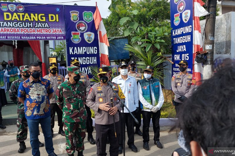 Kampung Tangguh Bintara tekan Covid-19 hingga nol kasus