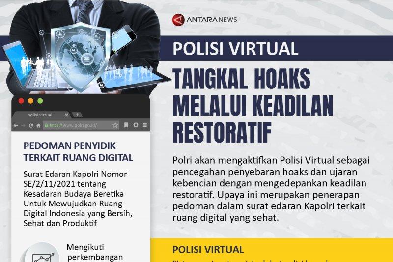 Polisi Virtual tangkal hoaks melalui keadilan restoratif