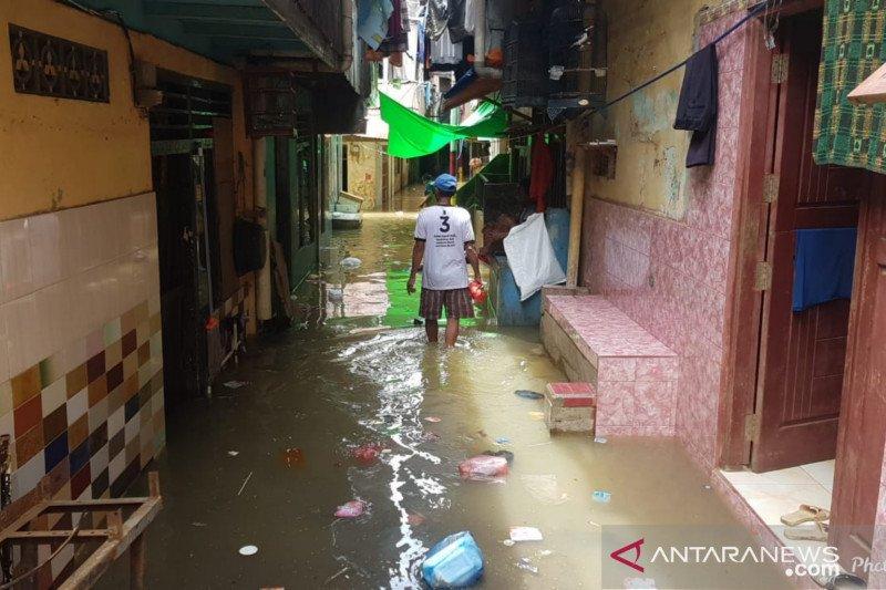 Permukiman penduduk di Kebon Pala kembali terendam banjir