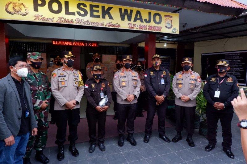 Tegas ke pelanggar prokes, Polri beri penghargaan Satpam BRI Makassar