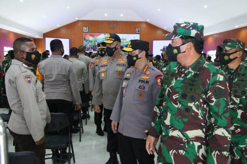 Kapolri minta Babinsa/Bhabinkamtibmas terus jaga kondusivitas Papua