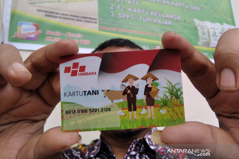 Baru 5,03 persen petani gunakan Kartu Tani untuk dapat pupuk subsidi