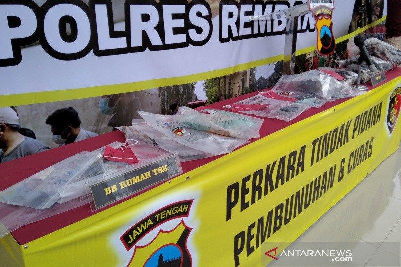 Polres Rembang tahan pelaku pembunuhan setelah jalani perawatan medis