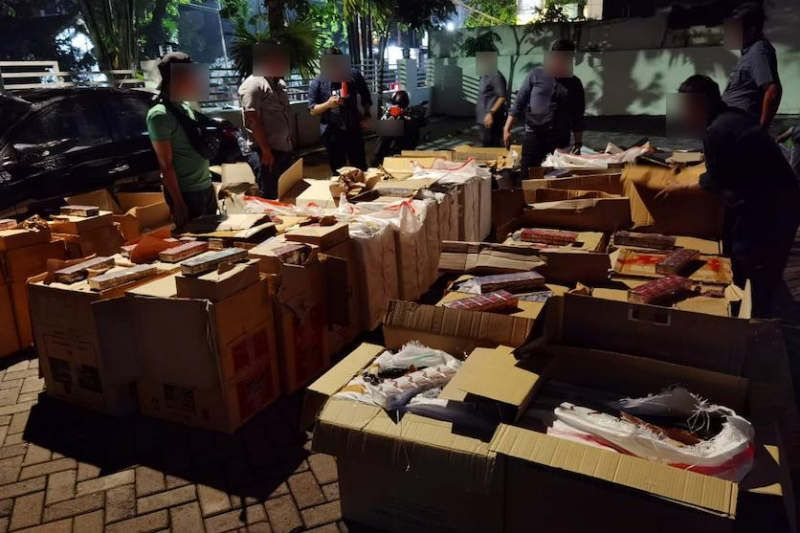 Bea Cukai Jateng-DIY gagalkan 49 penyelundupan rokok ilegal