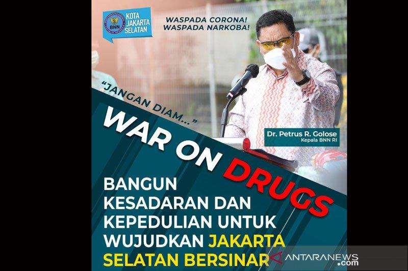 BNNK Jaksel tegaskan pecandu narkoba yang lapor tak dipenjara