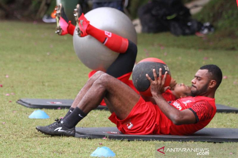 Madura United berlatih jelang turnamen Piala Menpora
