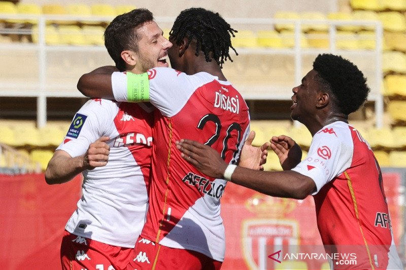 Monaco amankan tiga poin di kandang saat menjamu Brest