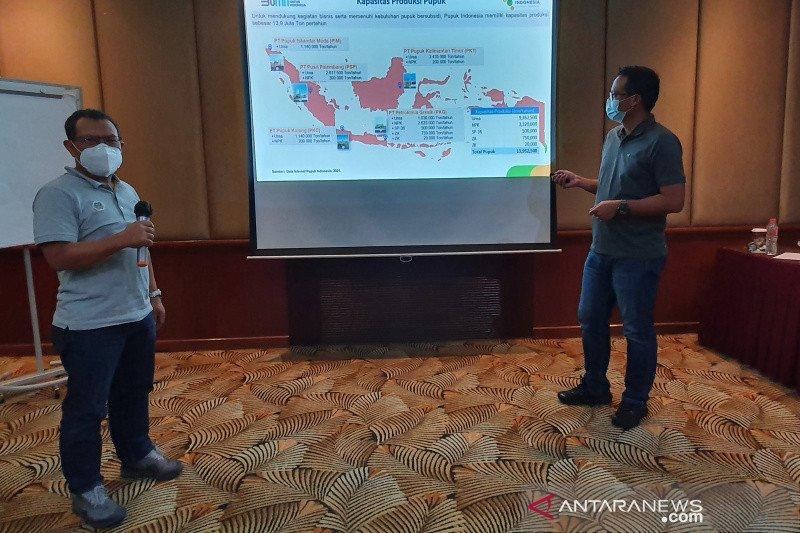 Pupuk Indonesia tambah stok pupuk bersubsidi di Jawa Tengah