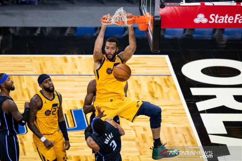 Utah Jazz raih kemenangan 124-109 atas Orlando Magic