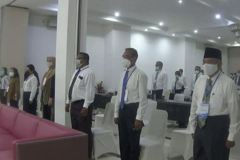 29 ASN Pemkot Ambon ikut seleksi rebut 10 jabatan kosong