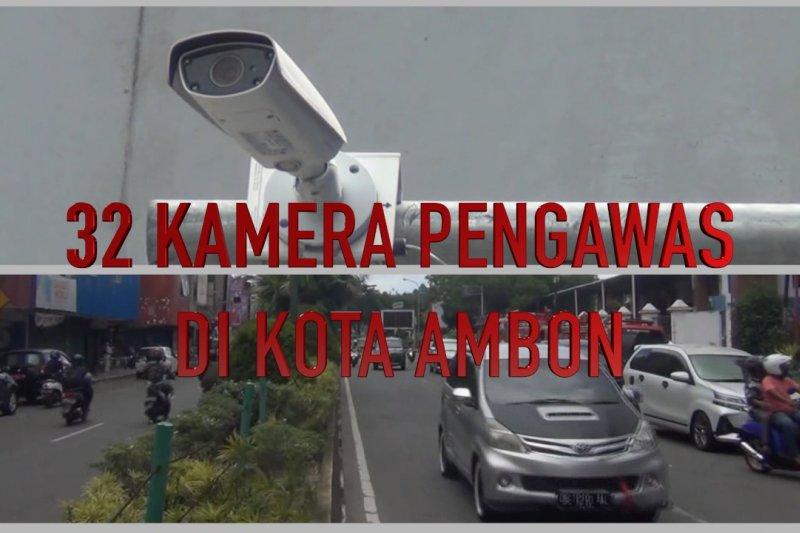 32 Kamera pengawas dipasang di Kota Ambon