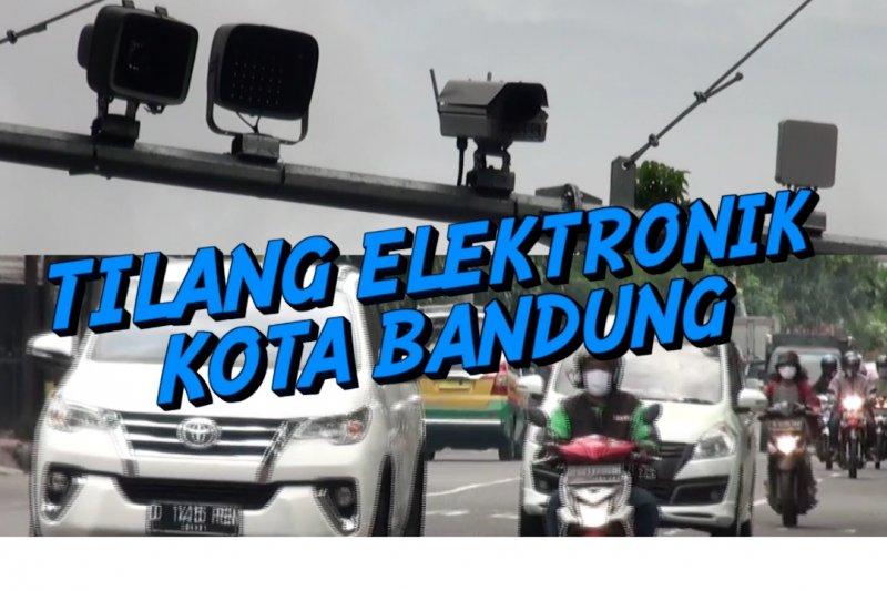 Alat tilang elektronik mulai terpasang di 10 titik Kota Bandung