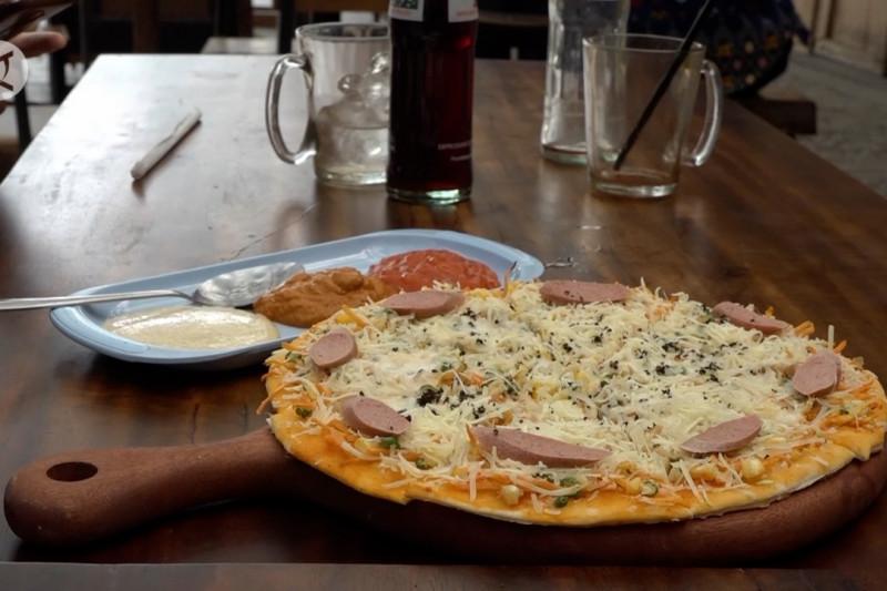 Kolaborasi Italia dan Toba dalam Pizza Andaliman