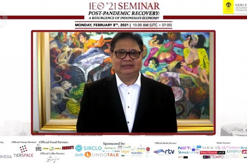 Menko Airlangga jelaskan strategi pemulihan ekonomi nasional