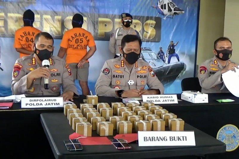 Pemasok bom ikan untuk nelayan Kepulauan Sumenep dibekuk