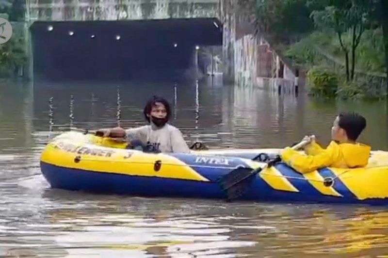 40 ruas jalan di Jakarta terendam banjir