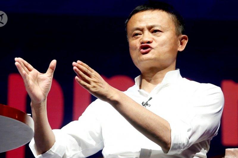 Di China, Jack Ma tidak terdaftar pengusaha terkemuka