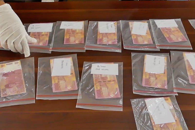 Polres Temanggung bongkar peredaran uang palsu