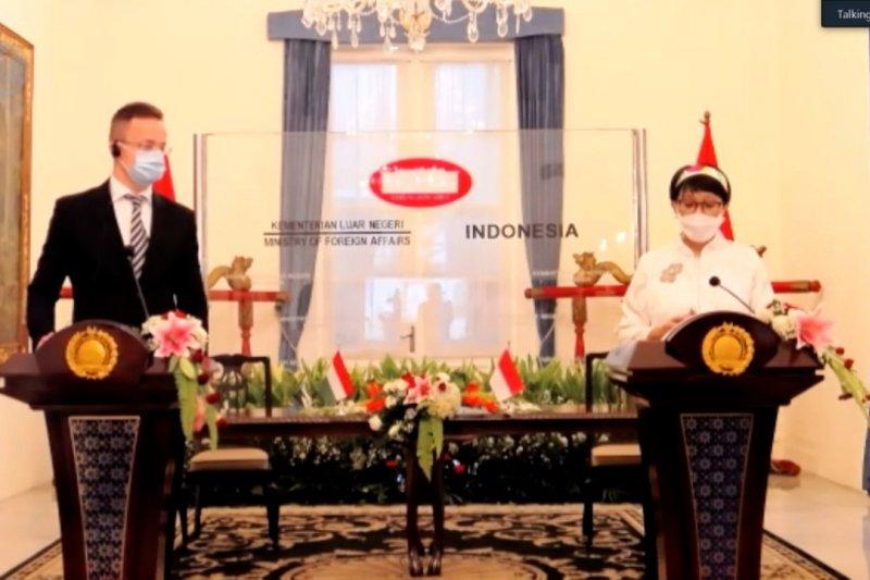 RI-Hongaria bahas isu Myanmar dan Palestina
