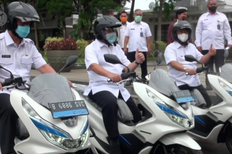 ASN Bandung akan gunakan motor listrik