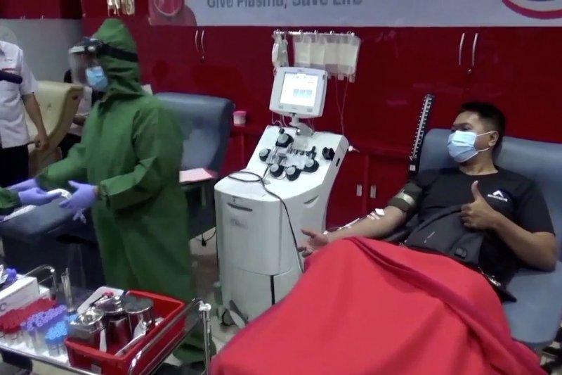 Donor konvalesen lebih baik dari penyintas kategori sedang hingga berat