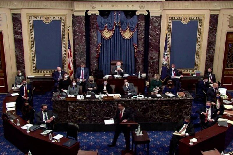Senat AS gelar persidangan kedua pemakzulan Trump