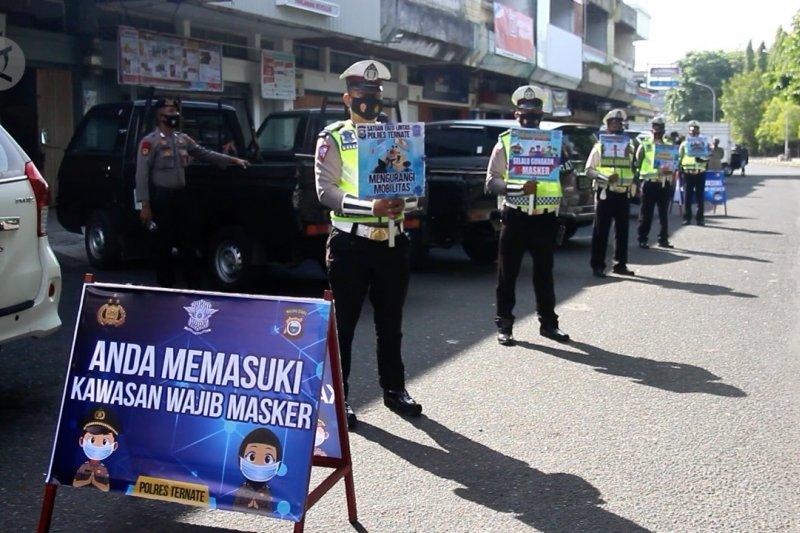 Kasus COVID-19 belum turun, Maluku Utara gencarkan lagi edukasi 5 M