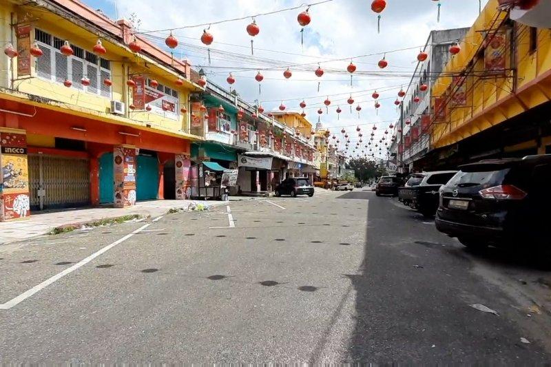 Tak ada gemerlap lampion di Bumi Melayu pada imlek tahun ini