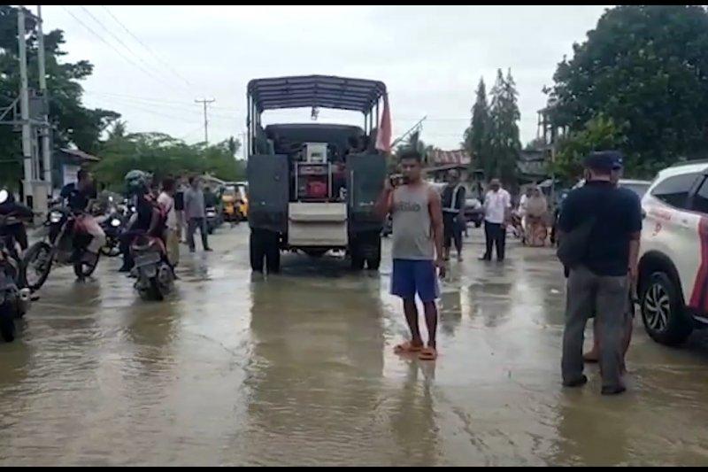 Sungai Tami meluap, warga Keerom dievakuasi