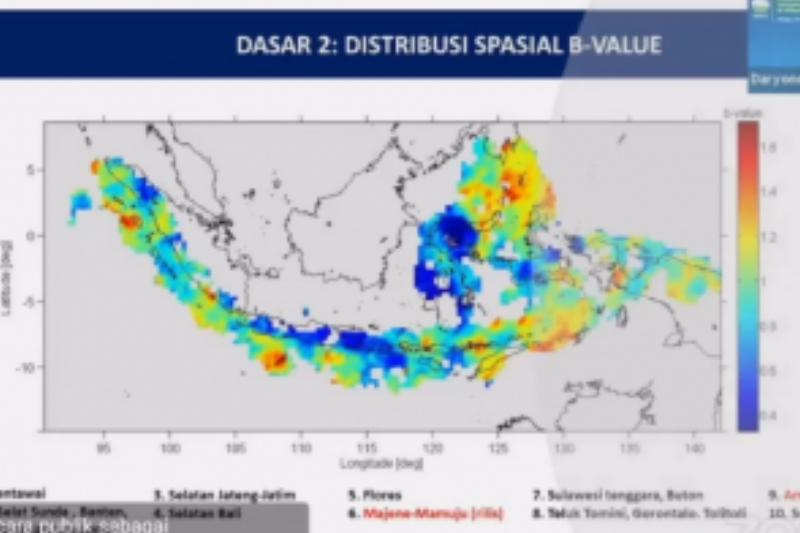BMKG petakan 10 wilayah berpotensi gempa dan tsunami