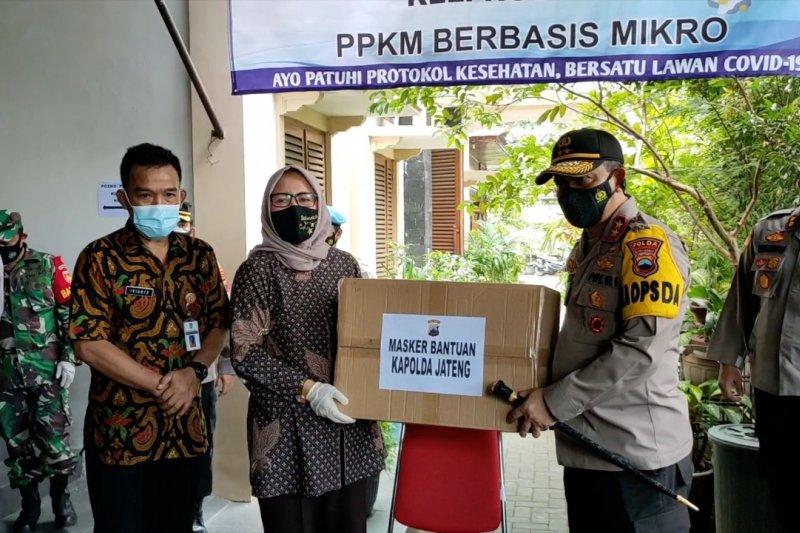 Kapolda Jateng cek pelaksanaan PPKM mikro di Solo