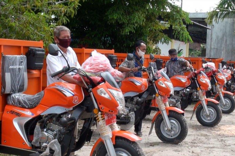 Pemkot Palangka Raya fasilitasi warga tangani sampah permukiman